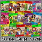 Monthly Number Sense Activity Growing Bundle {Representing Numbers 0-20}