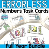 Monthly Numbers Errorless Task Boxes
