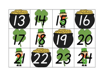 Printable Calendar Numbers (Each Month) with Bonus Holiday/Special Date Cards