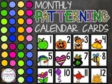 Monthly Patterning Calendar Cards