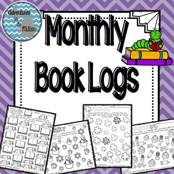 Monthly Picture Book Logs