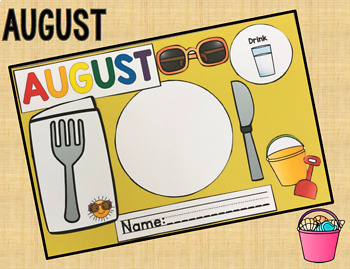 Monthly Place-mats