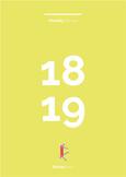 Calendar printable - Monthly Planner 2018-19