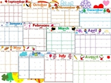 Monthly Planner 2018-2019