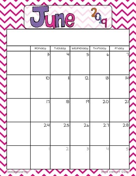 Monthly Planner ~Freebie!~