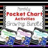 Monthly Pocket Chart Activities Bundle