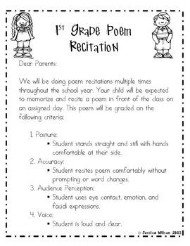 52 ENGLISH POEM RECITATION FOR CLASS 1