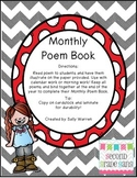 Monthly Poems for Poem Journal/Book
