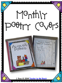 Monthly Poetry Journal Cover Pages