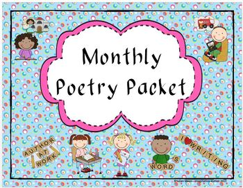 Monthly Poetry Packet