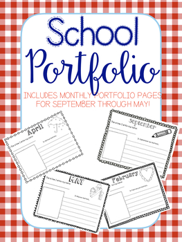 Monthly Portfolio   Adorable Keepsake   Memory Book