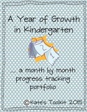 Monthly Portfolio Kindergarten