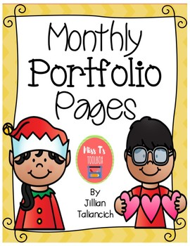 Monthly Writing Portfolio Pages