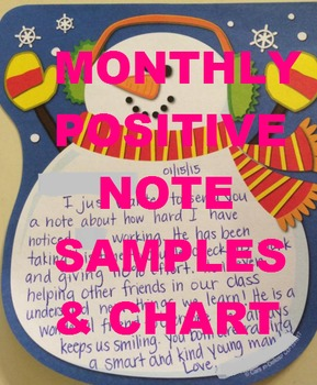 Monthly Positive Notes