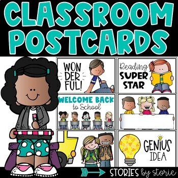 Classroom Postcards (editable)