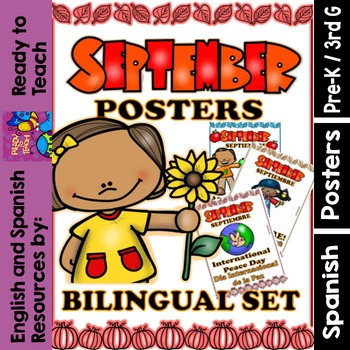 Monthly Posters - September - Bilingual