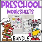 Monthly Preschool Worksheets GROWING Bundle