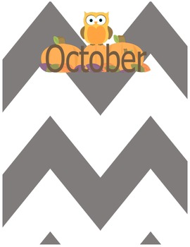 Monthly Printables
