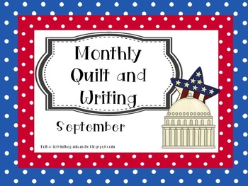 Monthly Quilt and Writing - September
