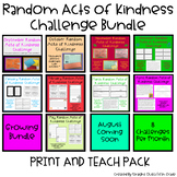 Monthly Random Acts of Kindness Challenge Pack GROWING BUNDLE