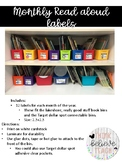 Monthly Read Aloud Labels