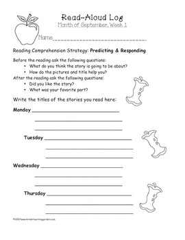 Monthly Read-Aloud Pack