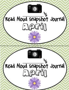 Monthly Read Aloud Snapshot Journals