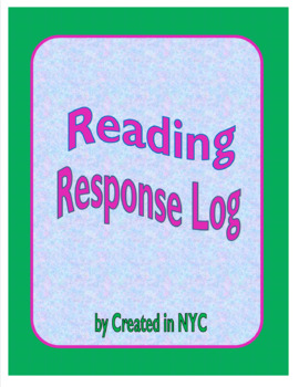 Reading Response Log