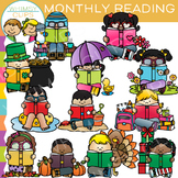 Monthly Reading Clip Art