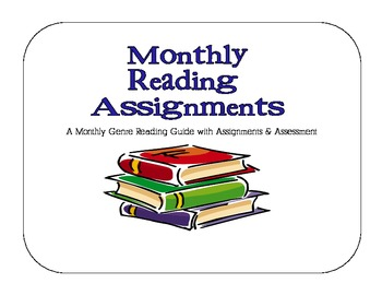 Monthly Reading Assignments