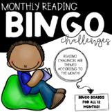 Monthly Reading BINGO