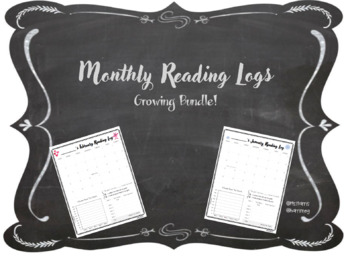 Monthly Reading Calendar: GROWING BUNDLE
