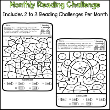 Monthly Reading Challenge