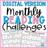 Monthly Reading Challenges Digital Distance Learning