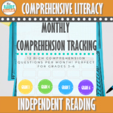Monthly Reading Comprehension Questions