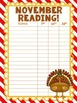 Monthly Reading Goal Tracking Poster Chart