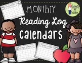Monthly Reading Log Calendars (without dates)