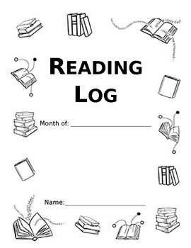 Monthly Reading Log [Editable]