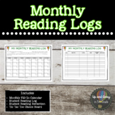 Monthly Reading Log Template