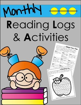 Monthly Reading Log and Homework