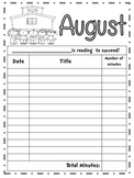 Monthly Reading Logs  ***Updated