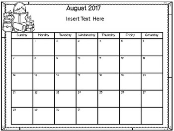 Monthly Reading Logs 2017-2018 EDITABLE!