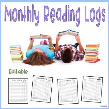 Monthly Reading Logs Free
