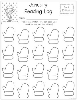 Monthly Reading Logs (Different Levels/5 Versions)