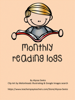 Monthly Reading Logs