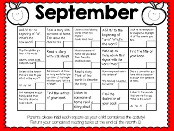 Monthly Reading Logs & Activities (FREEBIE in the Preview!)