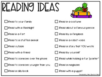 Monthly Reading Logs PLUS MORE!