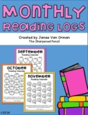Monthly Reading Logs - EDITABLE!