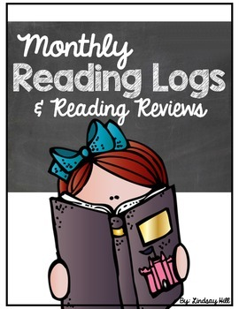 Monthly Reading Logs & Reading Reviews