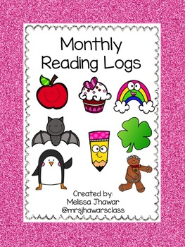 Monthly Reading Logs - Seasonal Theme